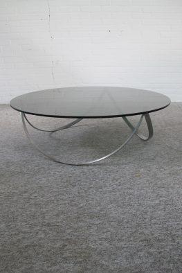 Salontafel Knut Hesterberg Poul Kjaerholm stijl tafel vintage midcentury