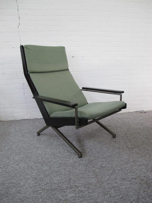 Lotus lounge fauteuil Rob Parry Gelderland vintage midcentury