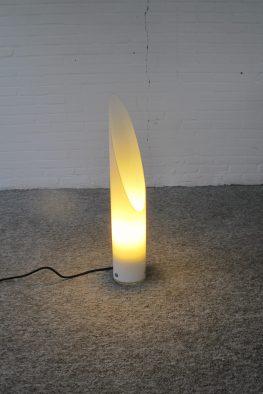 Lamp Raak Amsterdam plexiglass acrylic vloerlamp vintage midcentury