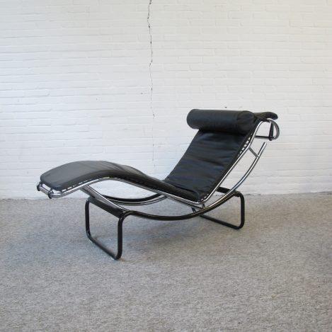 Chaise-longue Fauteuil loungefauteuils vintage midcentury