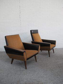 Fauteuil Artifort loungefauteuils vintage midcentury