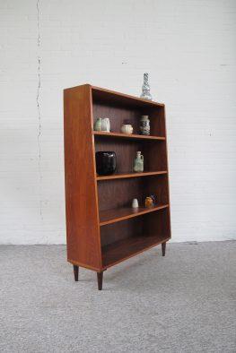 Kast Pastoe teakhouten highboard boekenkastje vintage midcentury