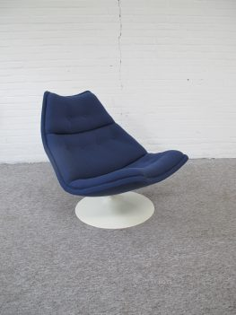Lounge fauteuil F511 Geoffrey Harcourt Artifort vintage midcentury