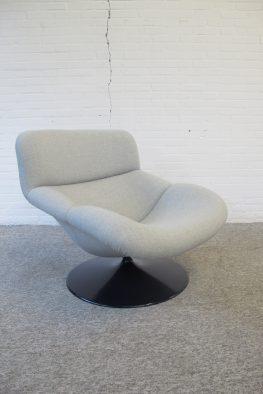 Lounge fauteuil F518 Geoffrey Harcourt Artifort vintage midcentury