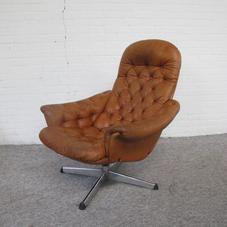 fauteuil loungefauteuil scandinavisch vintage midcentury