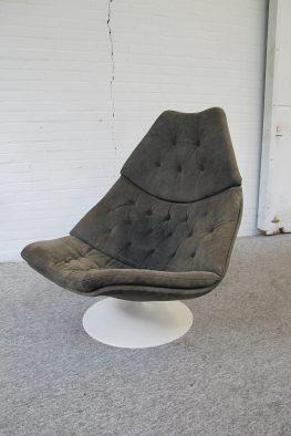 Fauteuil lounge chair Artifort F588 Geoffrey Harcourt midsentury vintage