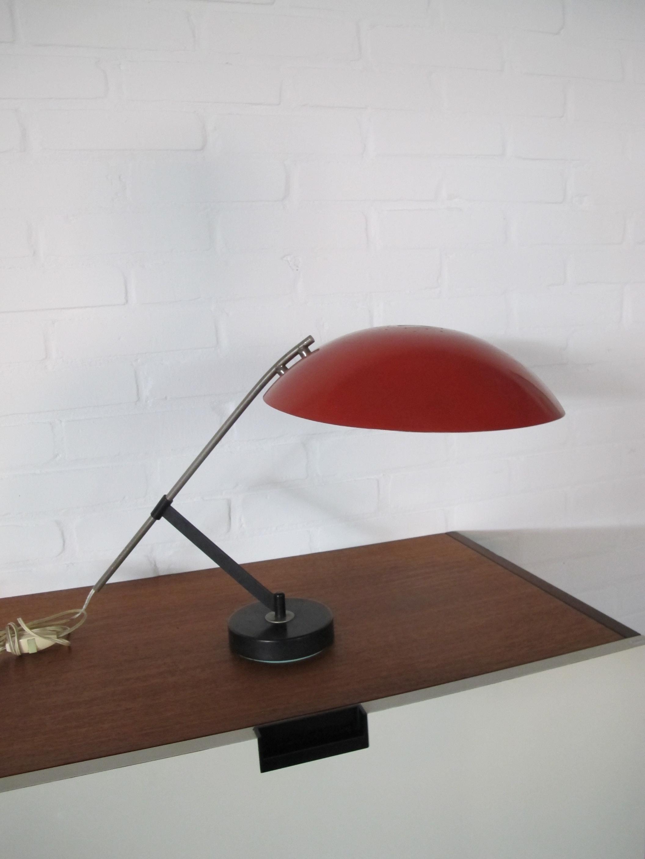 Lamp bureaulamp van Floris Fiedeldij voor Artimeta midsentury vintage