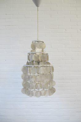 Lamp Mother of Pearl Verner Panton midsentury vintage