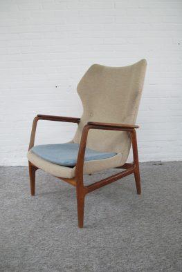 lounge chair fauteuil Aksel Bender Madsen Bovenkamp vintage midcentury