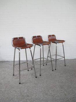 Charlotte Perriand Les Arcs bar stools barkrukken vintage midcentury