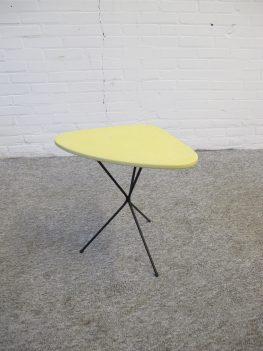 Tafel hairpin table Tjerk Reijenga Pilastro tafeltje vintage midcentury