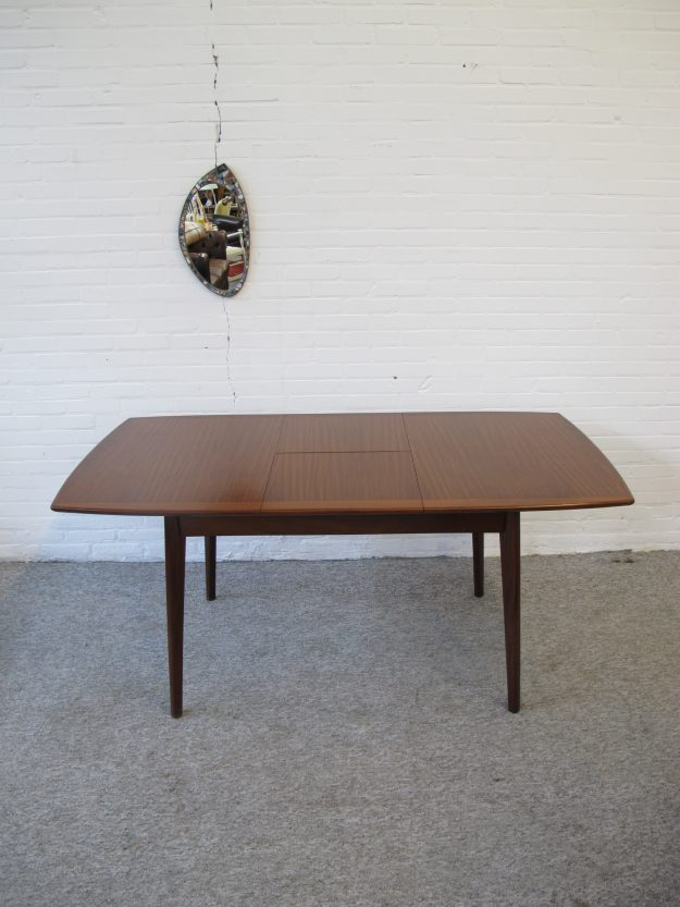 eettafel dining table tafel Louis van Teeffelen Wébé vintage midcentury