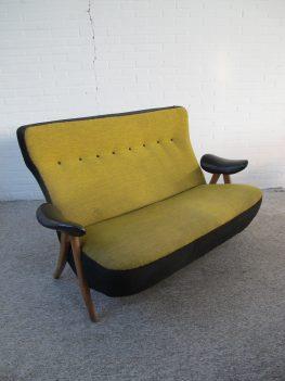 Bank sofa model 105 Hair Pin Theo Ruth Artifort vintage midcentury
