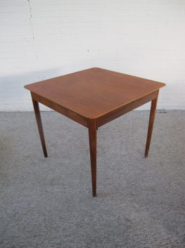 Table pastoe tafel teakhout dining table vintage midcentury