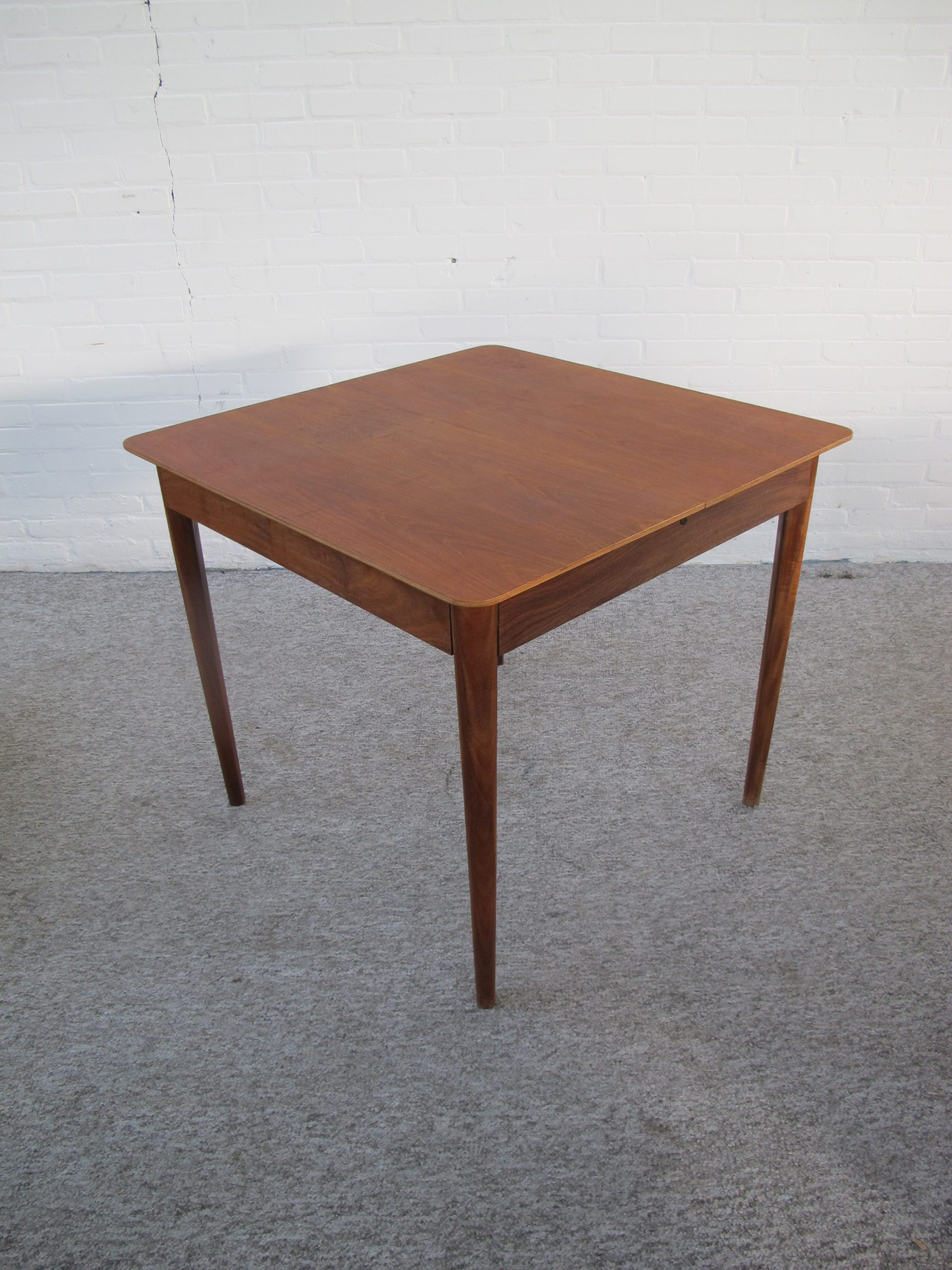 Table pastoe tafel teakhout dining table vintage midcentury