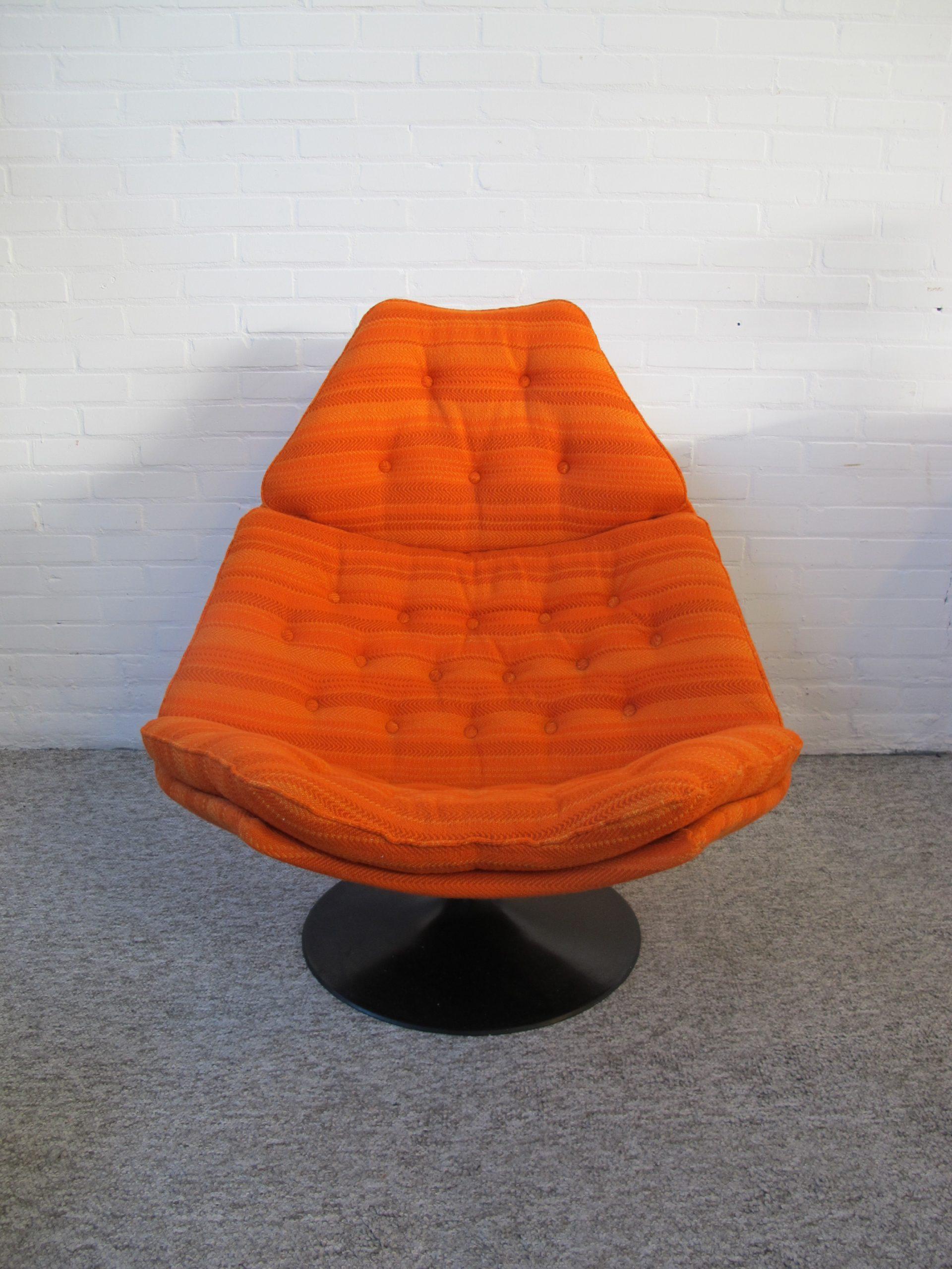 Fauteuil lounge chair Artifort F588 Geoffrey Harcourt vintage midcentury