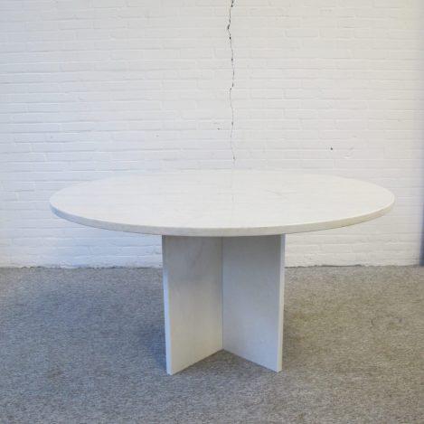 Tafel marmer Knoll Saarinen Italian eettafel dining table Vintage midcentury