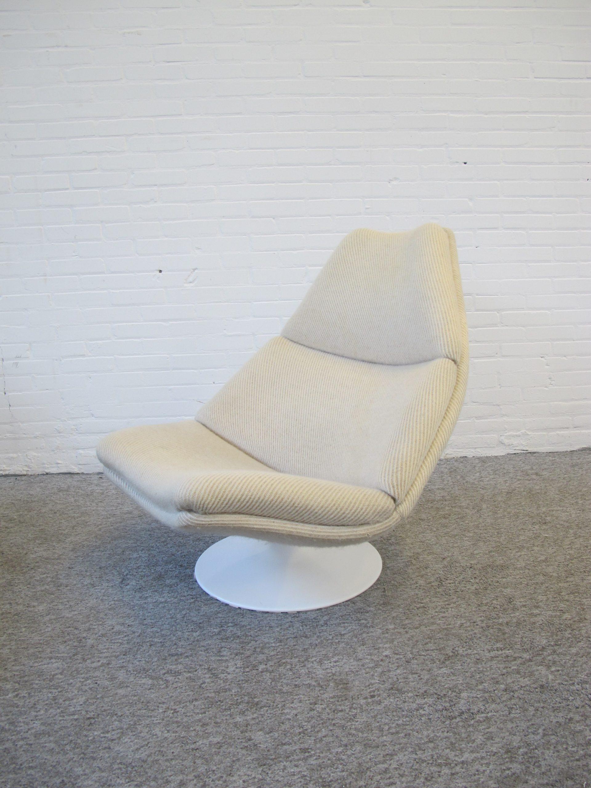 Lounge fauteuil lounge chair F510 Geoffrey Harcourt Artifort vintage midcentury