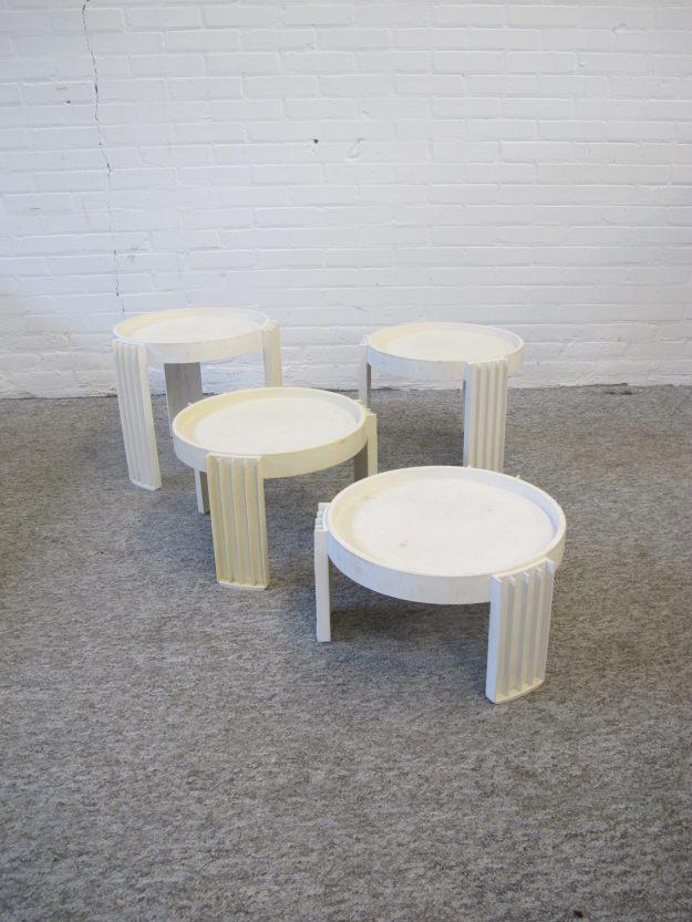 Tafeltjes Nesting tables Marema Gianfranco Frattini Cassina vintage midcentury