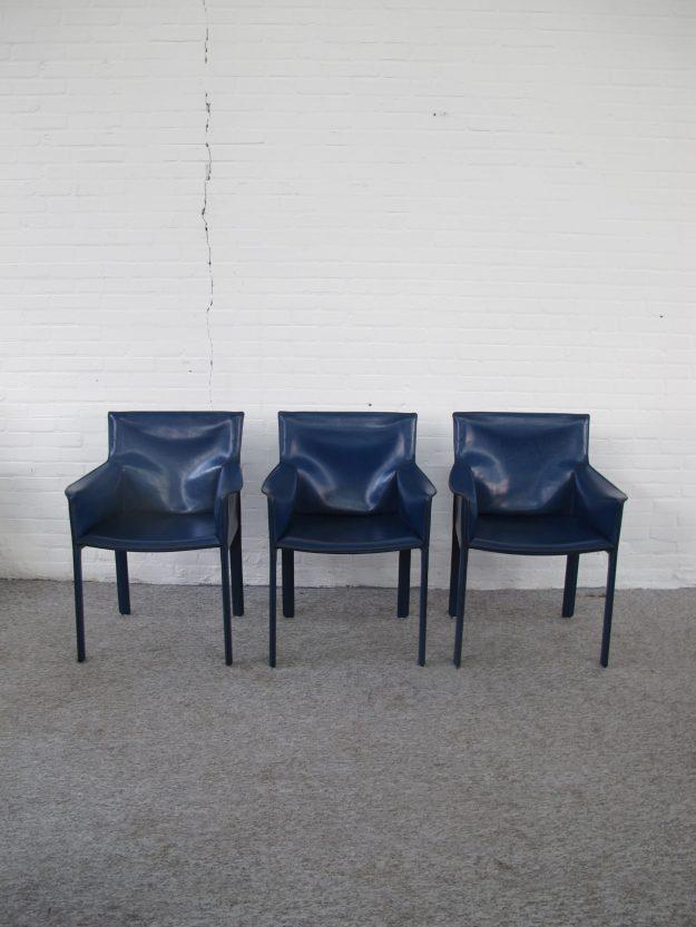 Enrico Pellizzoni Grazzi Bianchi Italië Pasqualina chair stoelen vintage midcentury