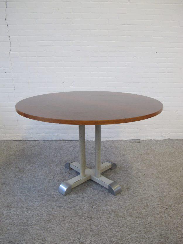 Tafel Chris Hoffman Gispen tenentafel toetable vintage midcentury