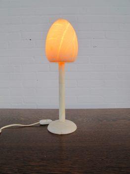 Lamp marmer Travertin tafellamp marble Travertine table lamp vintage midcentury