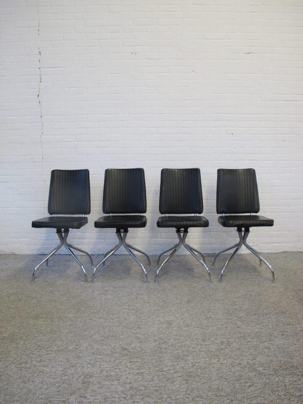 Stoel Amerikaanse swifel chairs stoelen SENG Chicago vintage midcentury