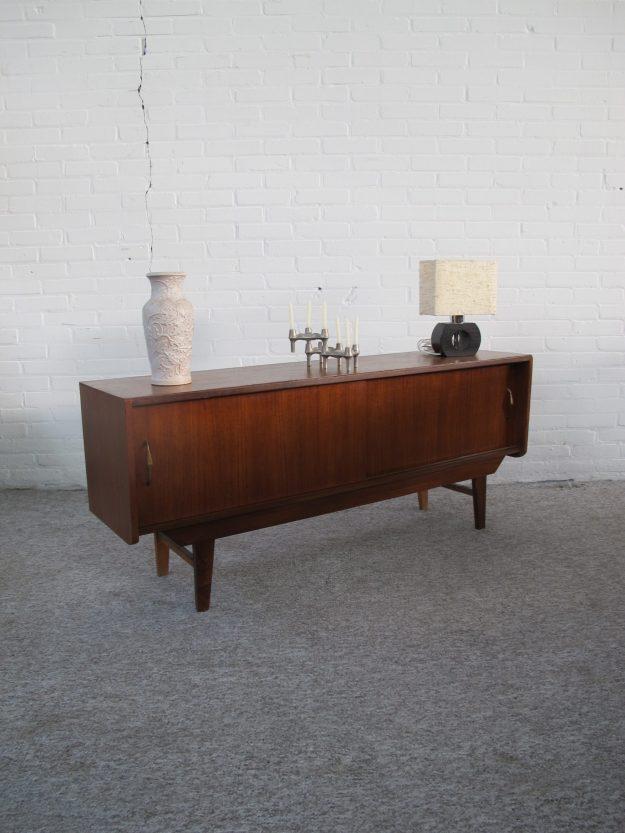 Dressoir Pastoe teakhouten dressoir kast kastje vintage midcentury