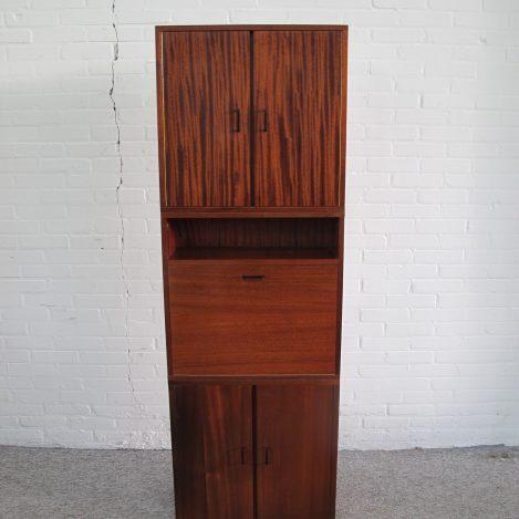 Kast Dressoir highboard Cupboard Sideboard highboard Pastoe vintage midcentury