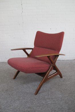 Fauteuil Armchair Deense Danish Louis van Teeffelen vintage midcentury