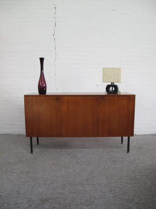 Pastoe Dressoir sideboard cabinet teakhout vintage midcentury