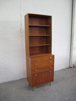 Kast teakhouten cabinet dressoir highboard Pastoe vintage midcentury