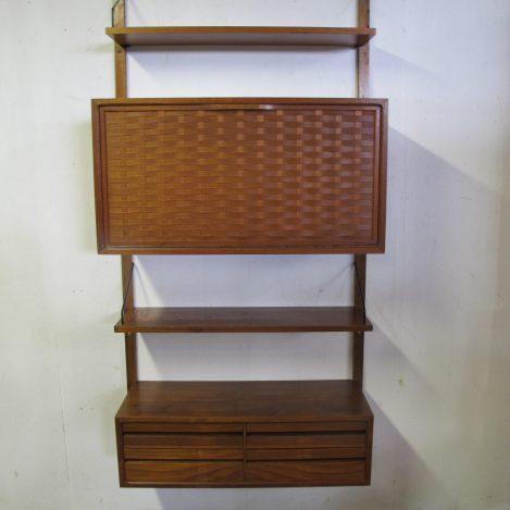 wandmeubel Wall system Poul Cadovius Cado Royal System vintage retro midcentury