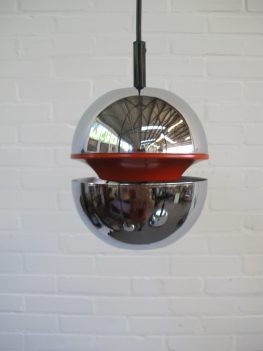Space Age hanglamp hanginglamp Kaiser Leuchten vintage retro midcentury