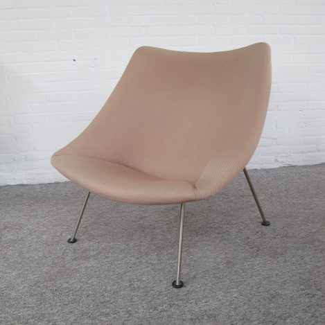 Oyster fauteuil armchair lounge chair Pierre Paulin Artifort vintage retro midcentury