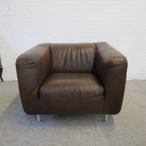 Fauteuil Gerard van den Berg Label lounge Chair vintage midcentury