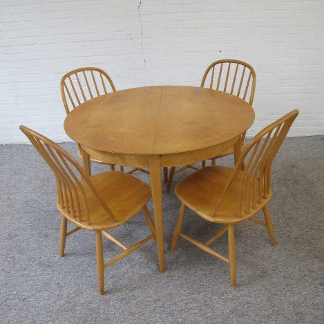 Tafel dining table eettafel TB05 Cees Braaman UMS Pastoe vintage midcentury