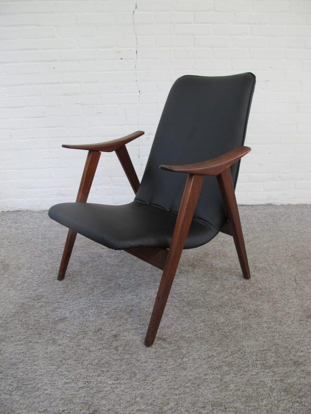 Armchair Louis van Teeffelen Wébé fauteuil vintage midcentury