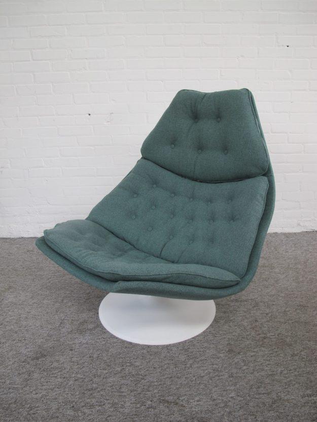 Lounge chair fauteuil F588 Geoffrey Harcourt Artifort vintage midcentury