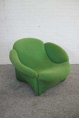 lounge chair fauteuil Pierre Paulin Artifort vintage midcentury