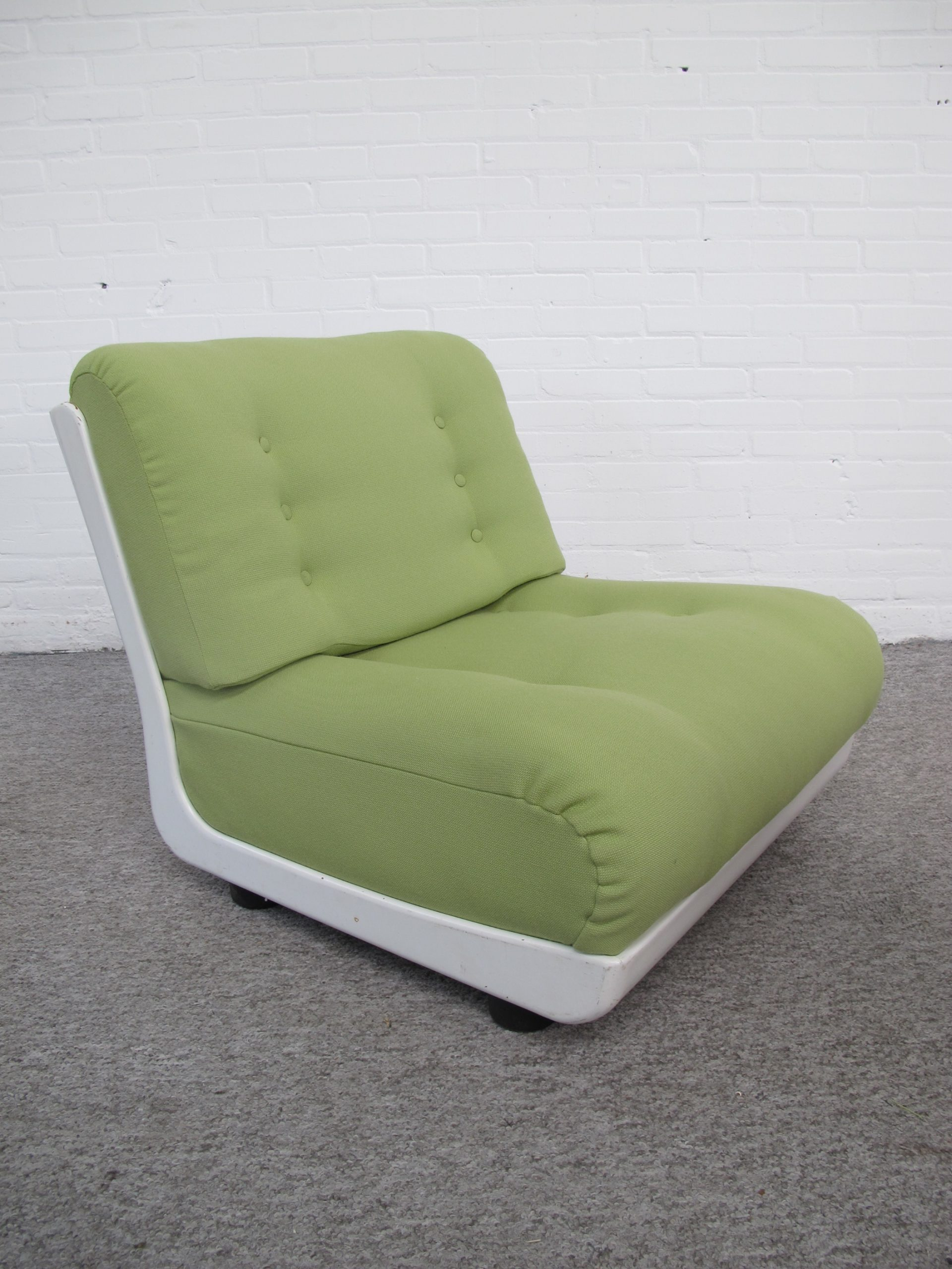 Lounge Chair Fauteuil Space Age C&B Italy vintage midcentury