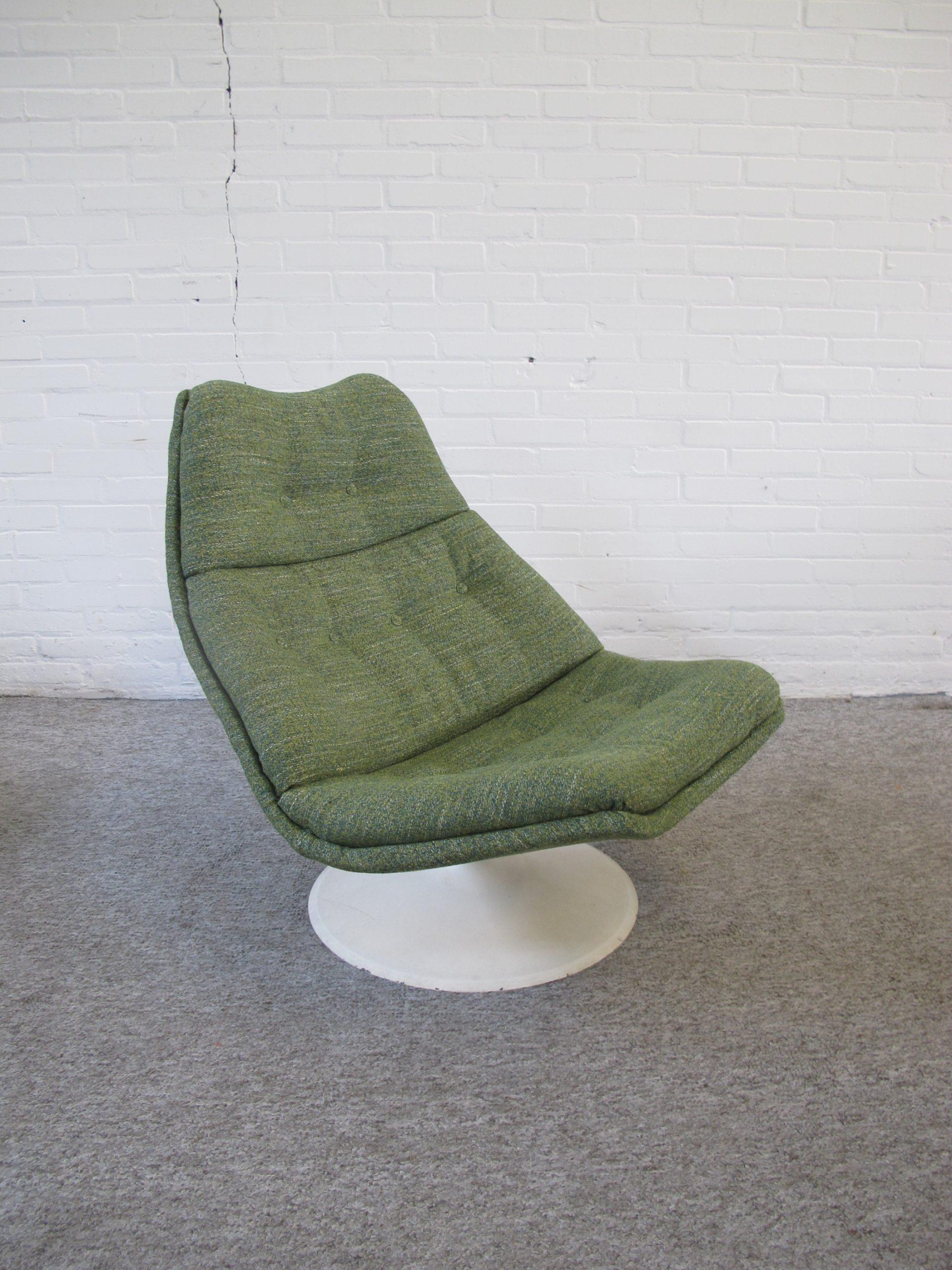 Lounge Chair Fauteuil F510 Geoffrey Harcourt Artifort vintage midcentury