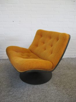 Lounge Chairs Fauteuil F976 Geoffrey Harcourt Artifort vintage midcentury