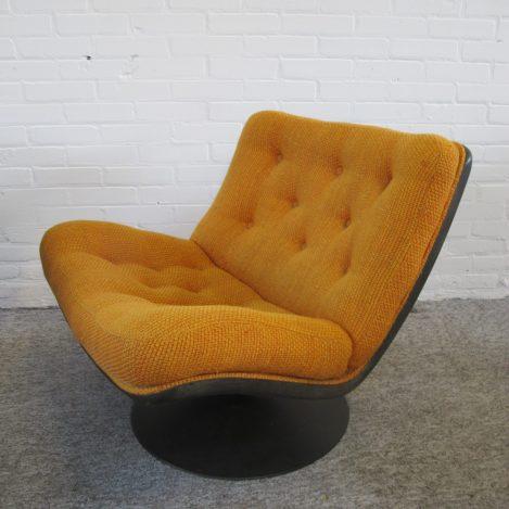 Lounge Chairs Fauteuil F976 Geoffrey Harcourt Artifort vintage midcentury