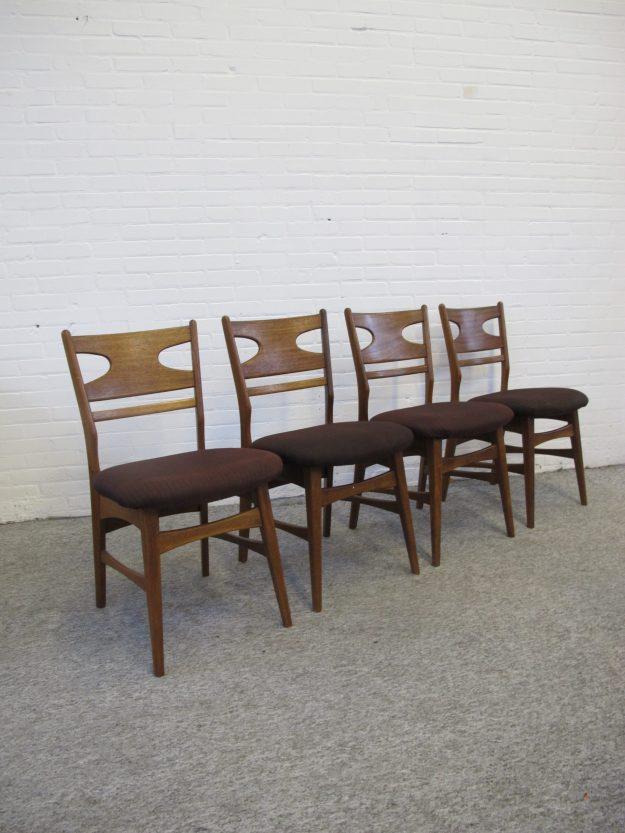 Deense Danish Pastoe Cees Braakman stoelen chairs vintage midcentury