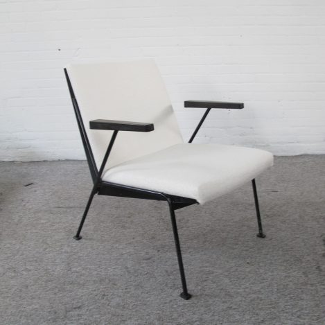 Oase fauteuil van Wim Rietveld vintage midcentury