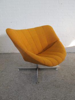 Fauteuil Lounge Chair Rudolf Wolf Rohe Noordwolde vintage midcentury