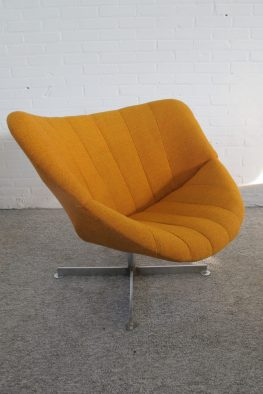 Fauteuil Lounge Chair Rudolf Wolf Rohe Noordwolde vintage midcentury