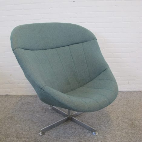 Armchair fauteuil Lounge Chair Rudolf Wolf Rohe vintage midcentury
