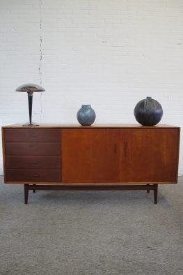 Sideboard Pastoe teakhouten dressoir vintage midcentury